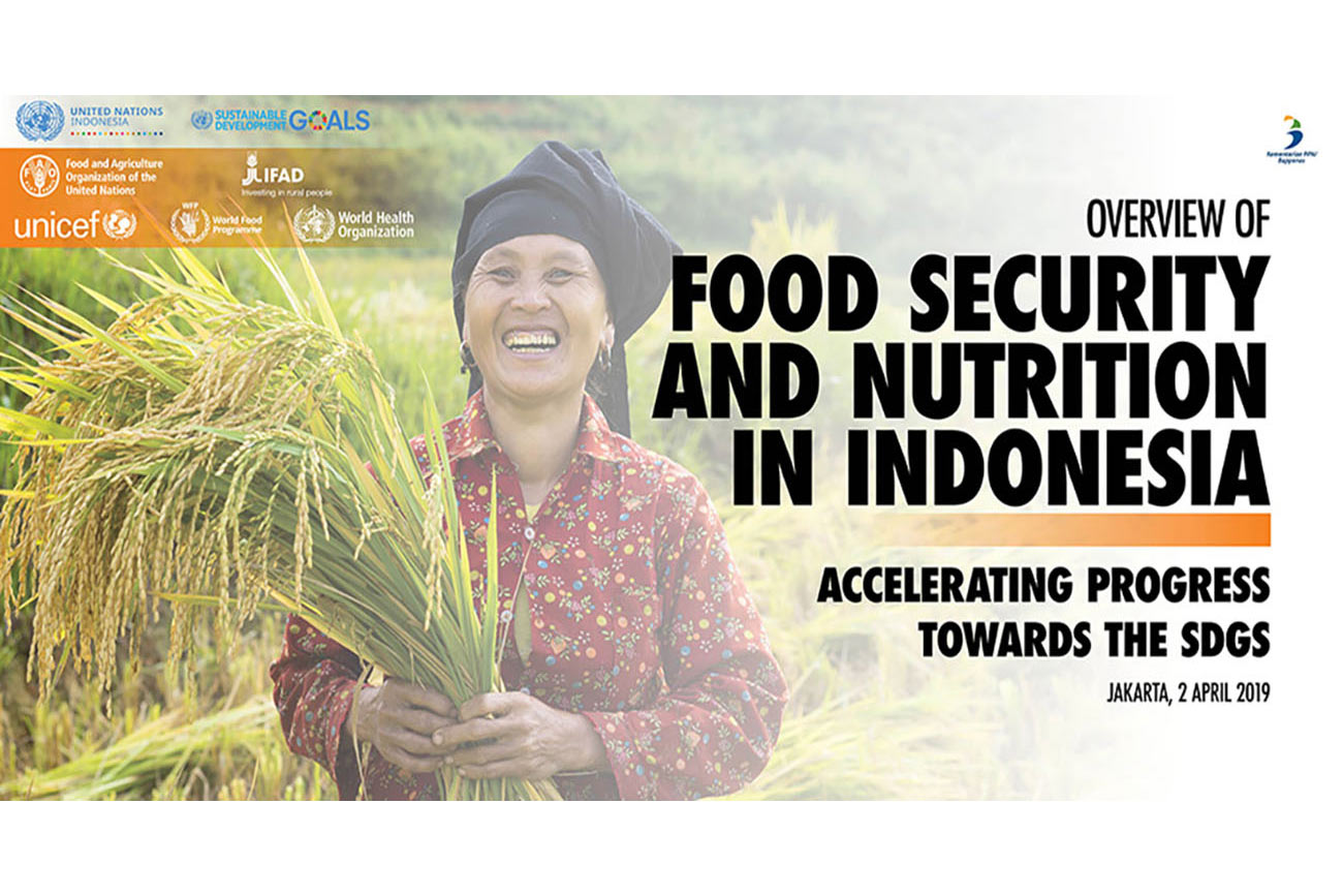Nutrition improved in a Indonesia despite worsening trend in Asia and the Pacific