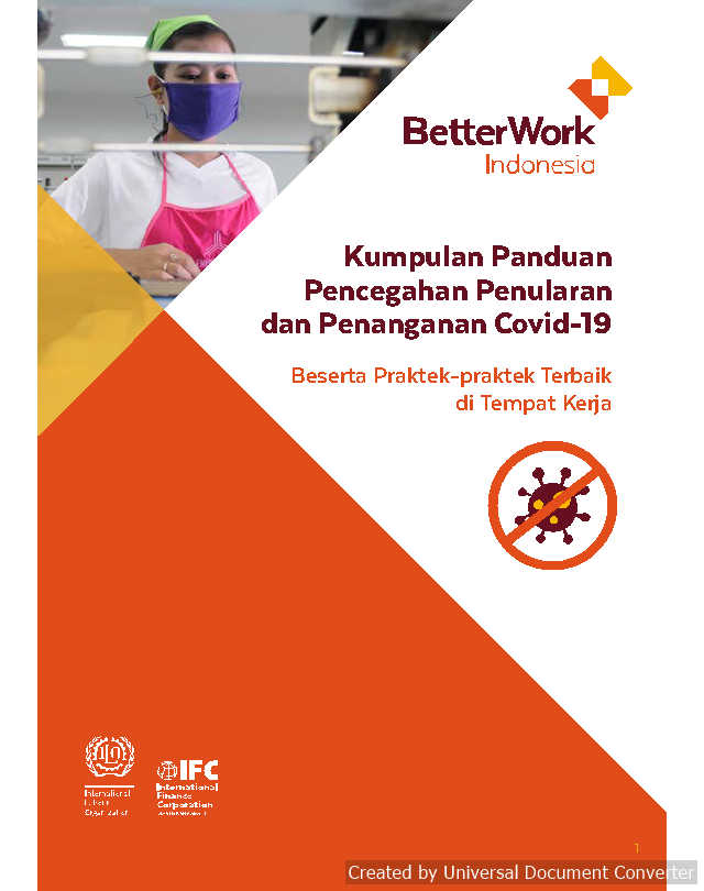 Better Work Indonesia COVID-19 Guidance