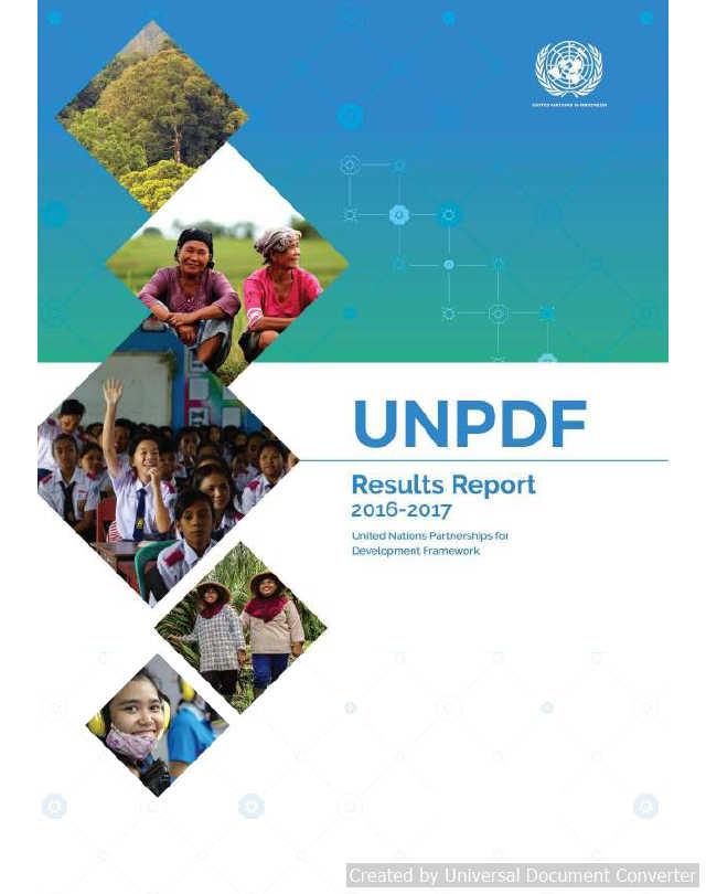 UNPDF Results Report 2016 - 2017