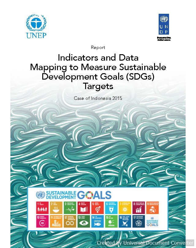Indicators and Data Mapping to Measure Sustainable Development Goals (SDGs) Targets