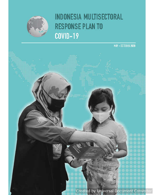 Indonesia Multisectoral Response Plan to COVID-19