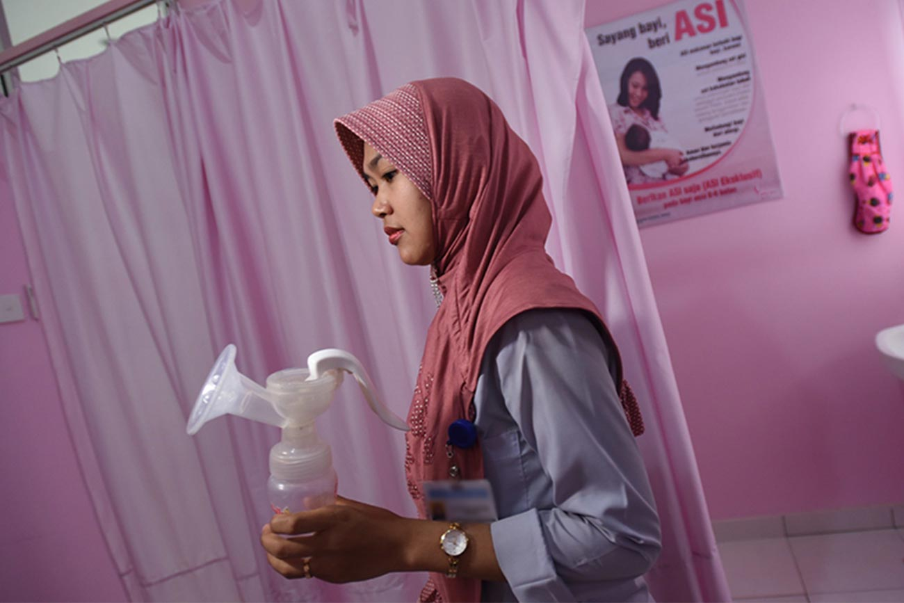 Ririh and the pink room: How investing in breastfeeding facilities benefits workers, their babies and business