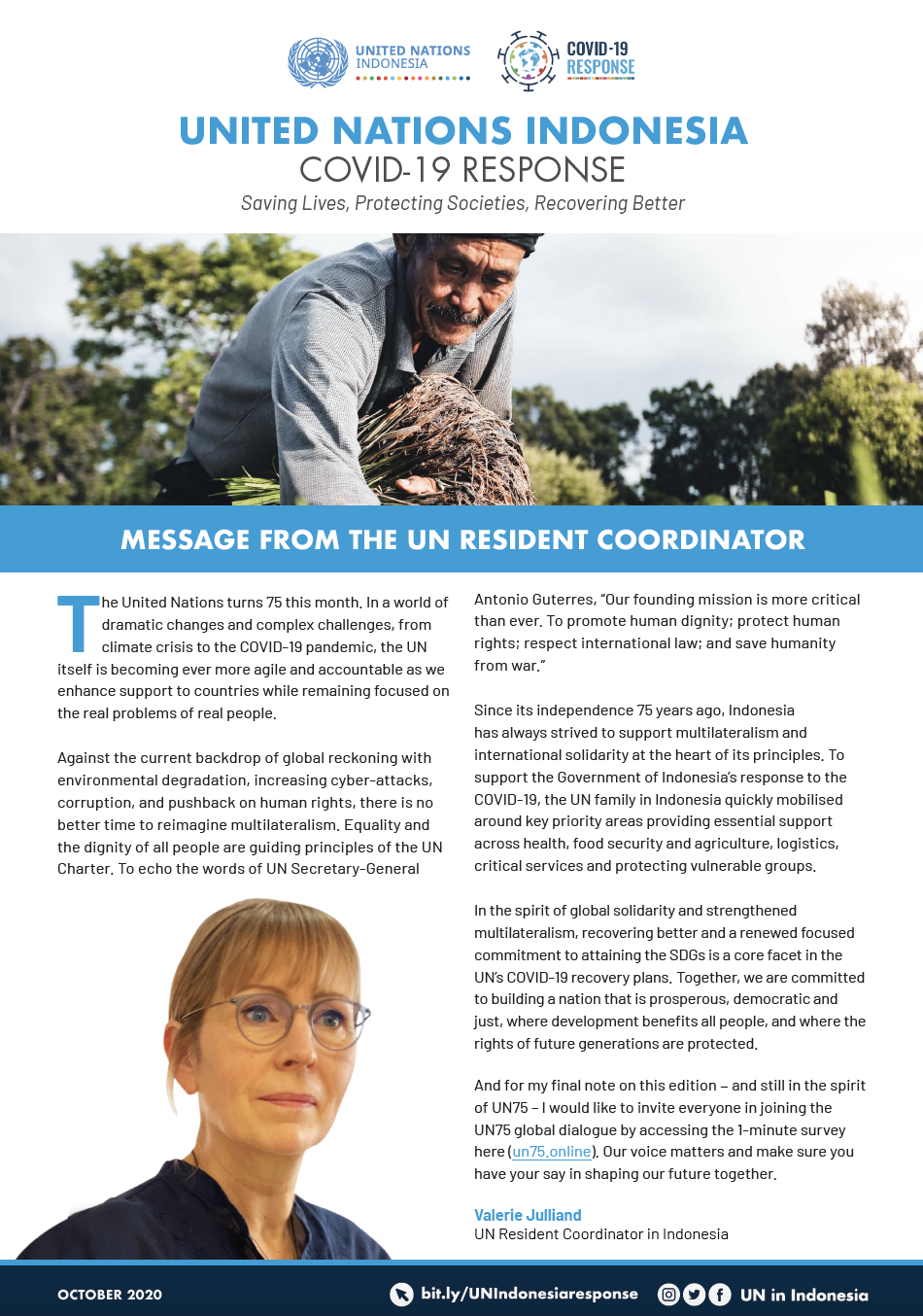 UN in Indonesia COVID-19 Response Newsletter October 2020