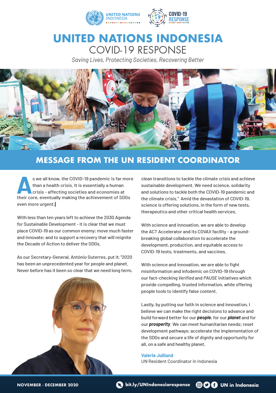 UN in Indonesia COVID-19 Response Newsletter December 2020