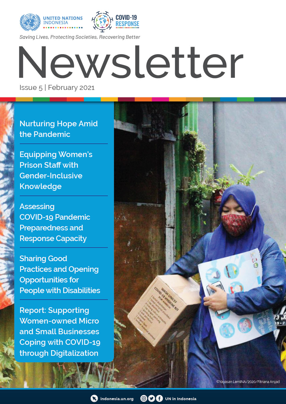 UN in Indonesia COVID-19 Response Newsletter February 2021