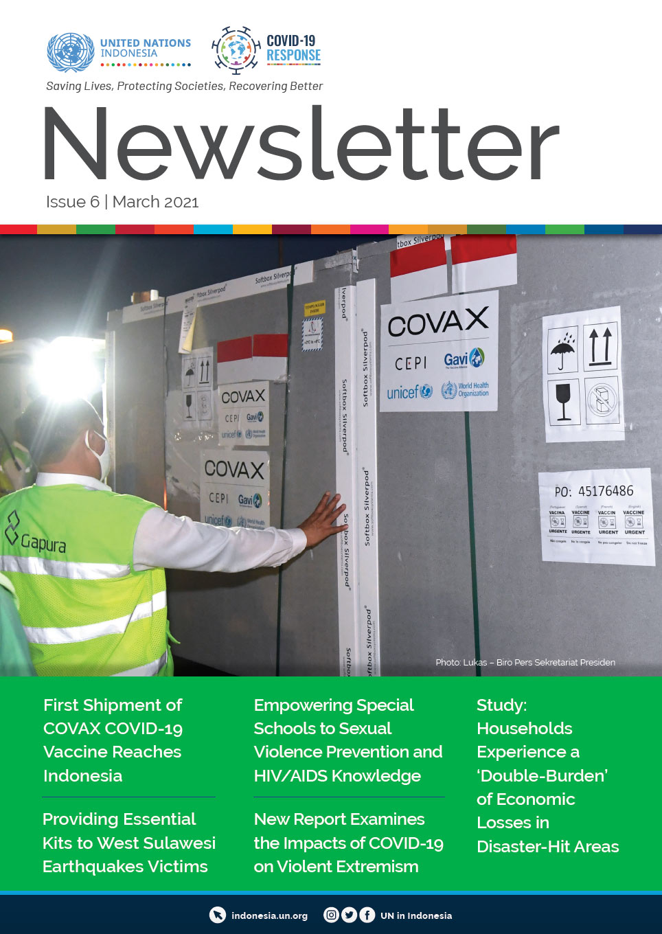 UN in Indonesia Newsletter March 2021