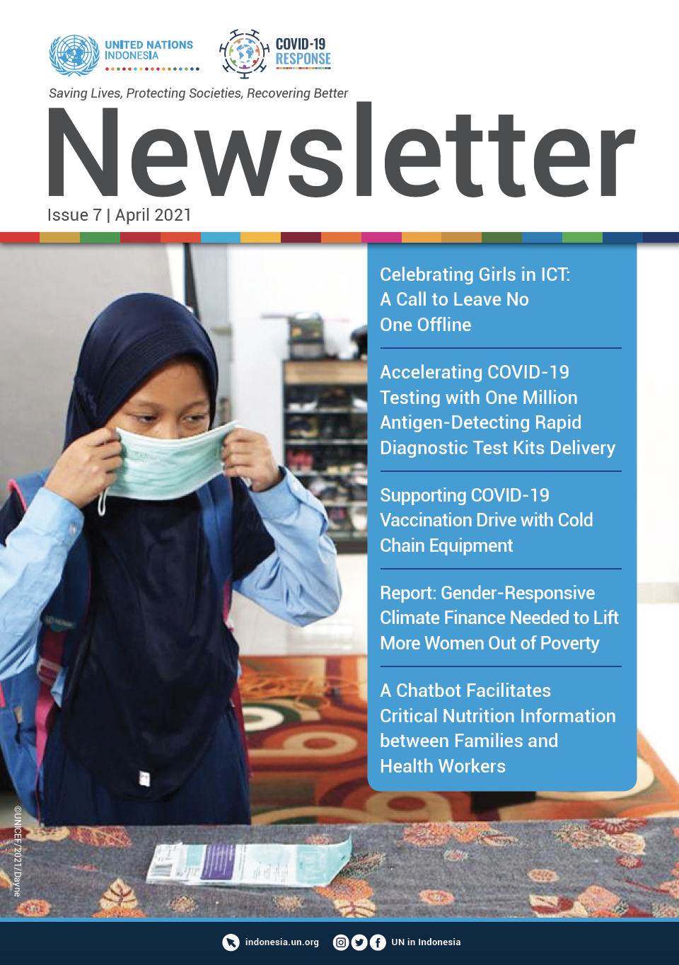 UN in Indonesia Newsletter April 2021