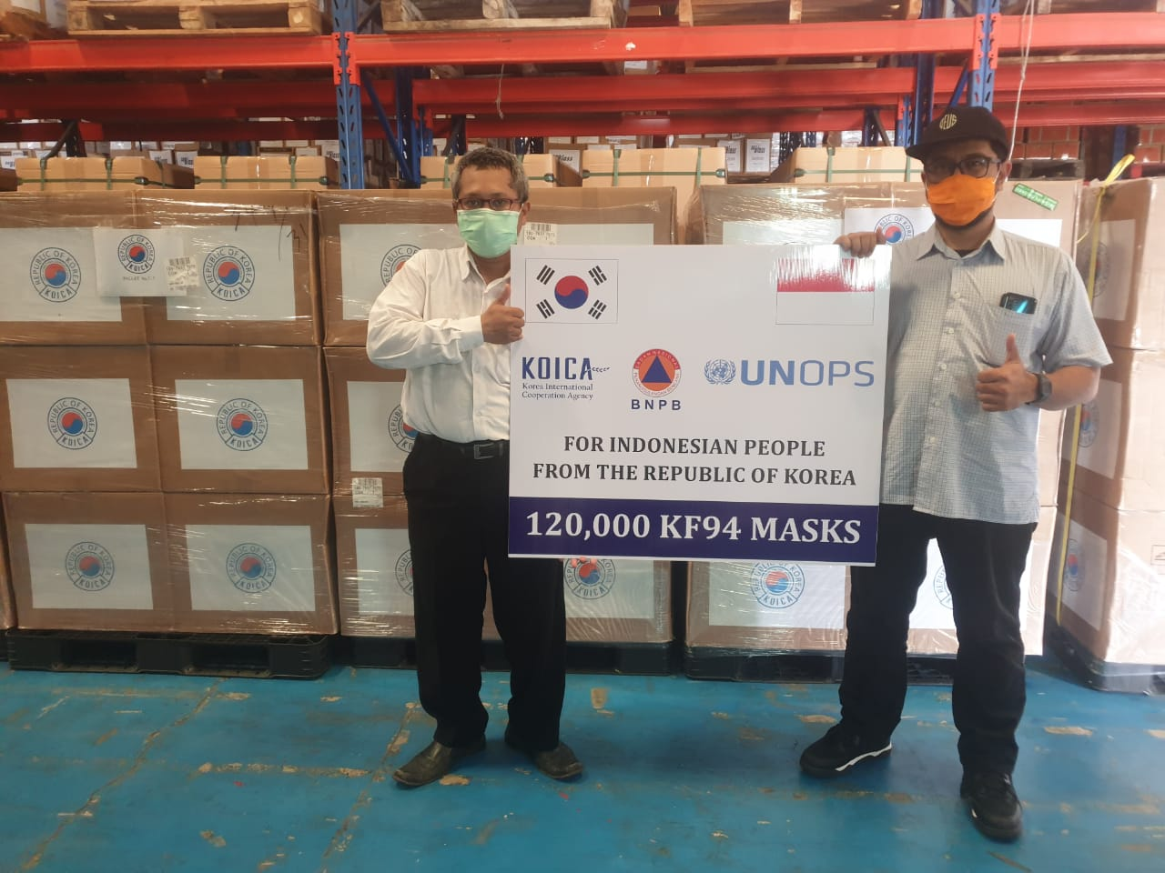 KOICA and UNOPS Partner to Strengthen Indonesia's Pandemic Response