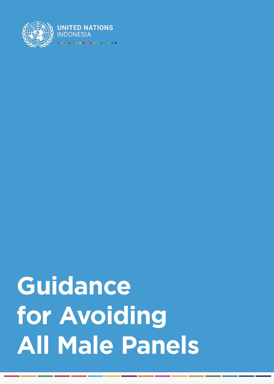 Guidance for Avoiding All Male Panels