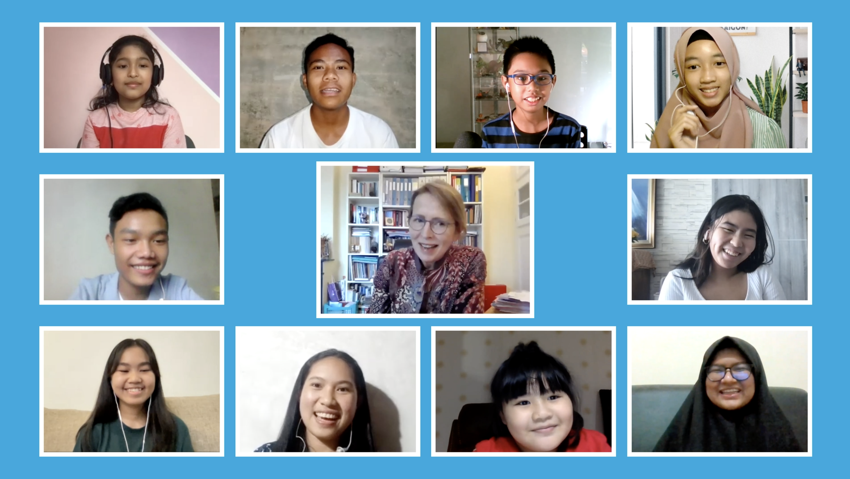 Watch: Young Indonesians Interview UN Resident Coordinator Valerie Julliand on National Children's Day