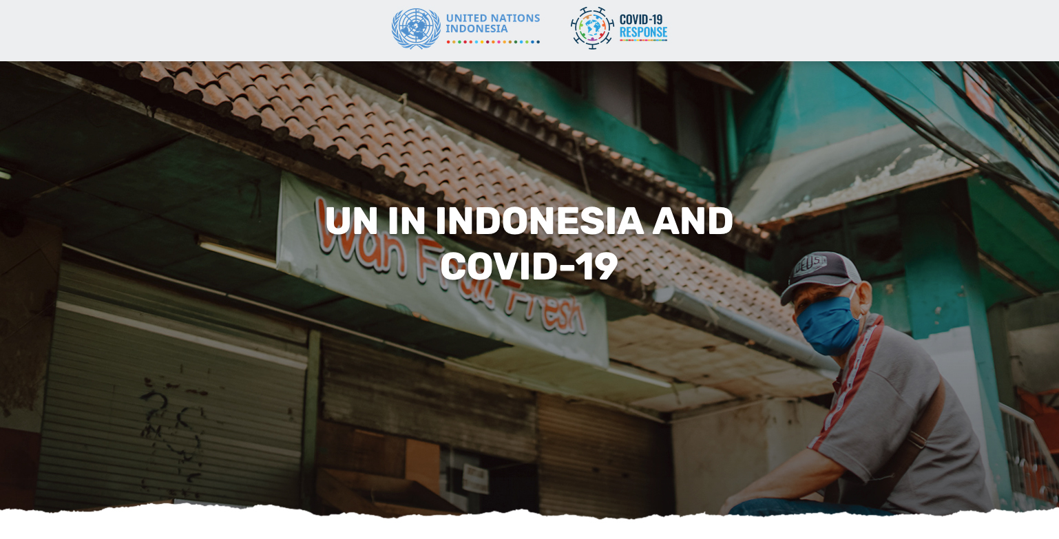 The UN in Indonesia Launched a New Microsite to Guide Recovery From COVID-19