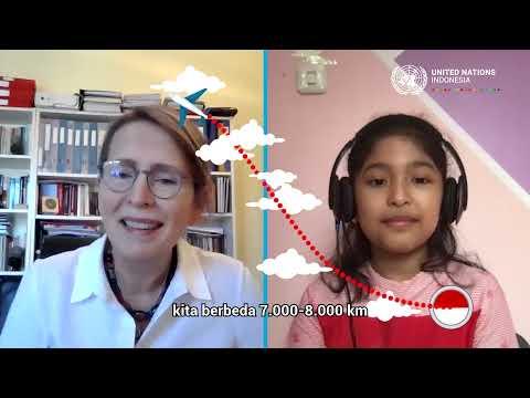 #HAN2021 - Video Call Bersama Kepala Perwakilan PBB di Indonesia Valerie Julliand (Raesha)