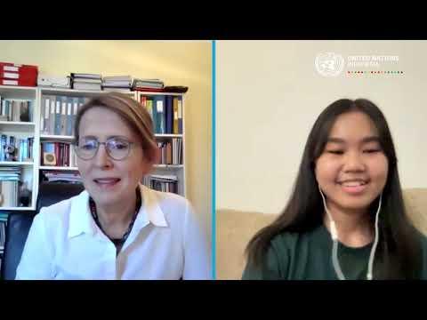 #HAN2021 - Video Call Bersama Kepala Perwakilan PBB di Indonesia Valerie Julliand (Aiko)