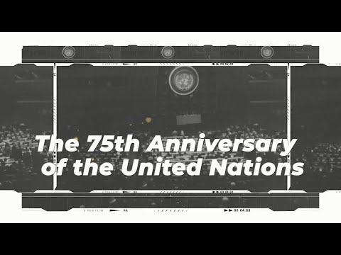 The 75th session of the UN General Assembly