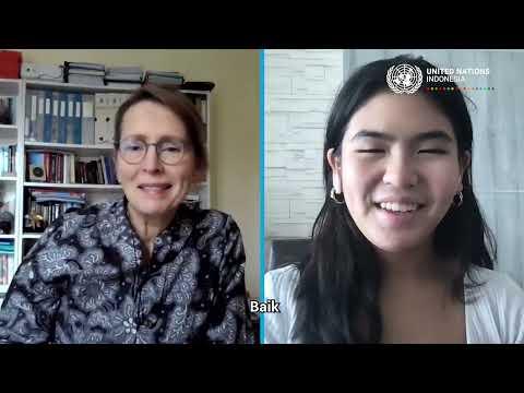 #HAN2021 - Video Call Bersama Kepala Perwakilan PBB di Indonesia Valerie Julliand (Alexis)