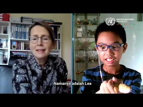 #HAN2021 - Video Call Bersama Kepala Perwakilan PBB di Indonesia Valerie Julliand (Ardi)